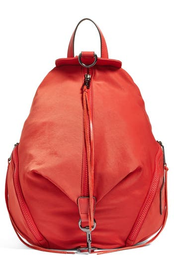 Rebecca Minkoff Julian Nylon Backpack - Red