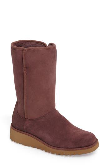 Ugg Amie - Classic Slim(TM) Water Resistant Short Boot, Purple