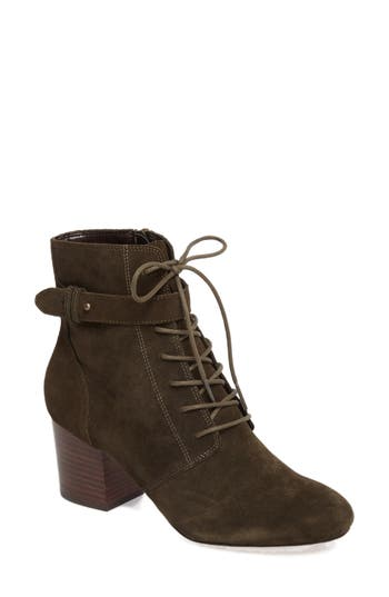 Sole Society Glenda Bootie, Green