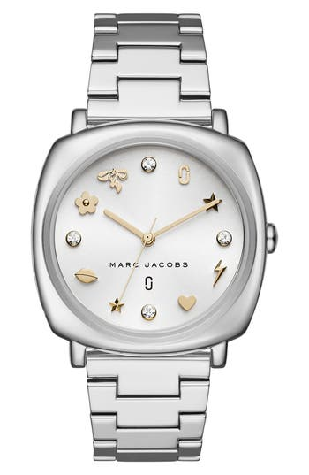 Women's Marc Jacobs Mandy Bracelet Watch, 34Mm