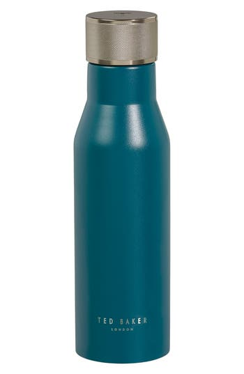 Ted Baker London Stainless Steel Water Bottle, Size One Size - Blue