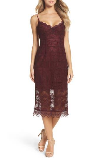 Women's Nsr Floral Lace Slipdress