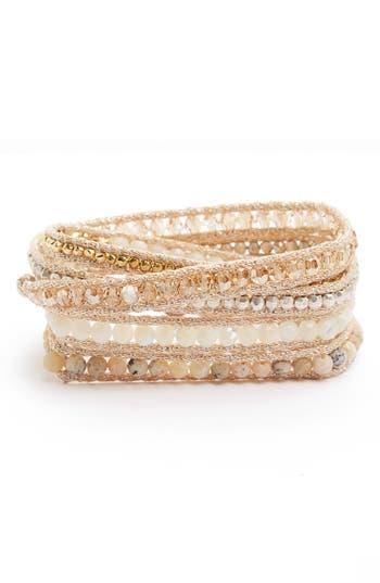 Women's Chan Luu Semiprecious Stone Wrap Bracelet