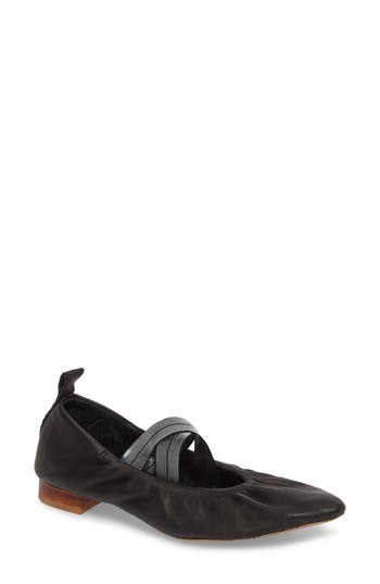 Free People Solitaire Flat, Black