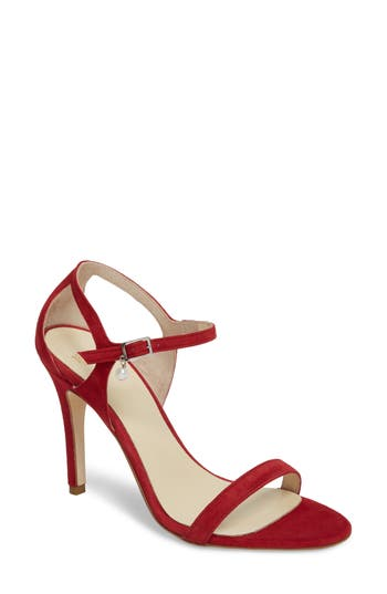 Butter Haley Ankle Strap Sandal- Red