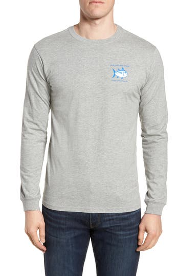 Southern Tide Original Skipjack T-Shirt, Grey