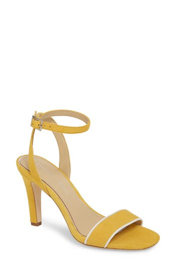 Etienne Aigner Martini Sandal- Yellow
