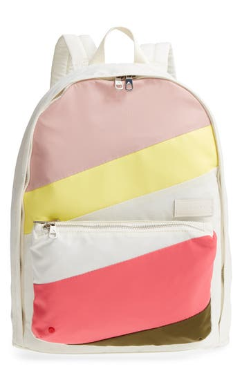State THE HEIGHTS LORIMER BACKPACK - IVORY