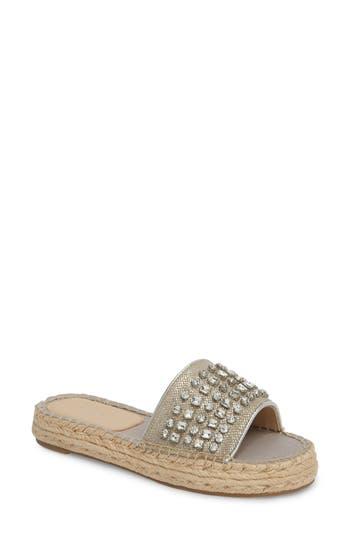 Botkier Julie Slide Sandal, Metallic