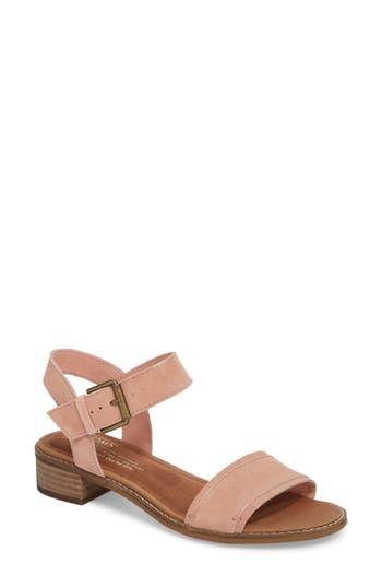 Women's Toms Camilia Sandal, Size 5 B - Pink
