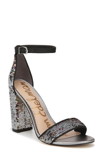 Sam Edelman Yaro Ankle Strap Sandal, Black