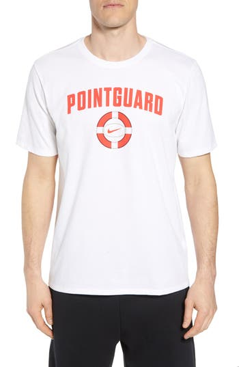 Nike Dry Pointguard Graphic T-Shirt, White