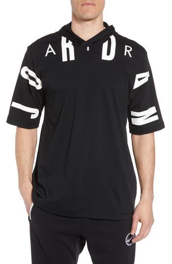 Jordan 23 Hooded T-Shirt, Black