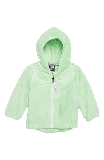 Infant The North Face Oso Fleece Hooded Jacket, Green