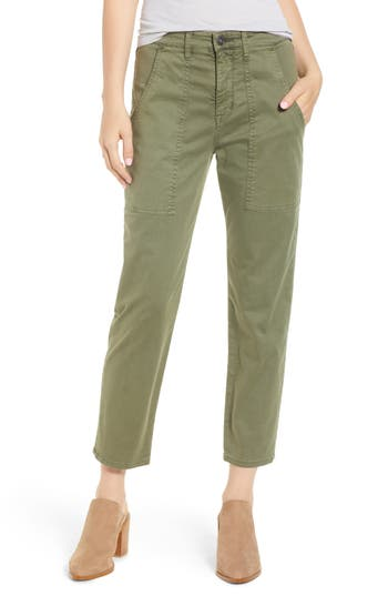 Hudson Jeans The Leverage Ankle Cargo Pants, Green