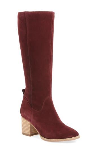 Blondo Nicola Waterproof Knee High Boot, Red