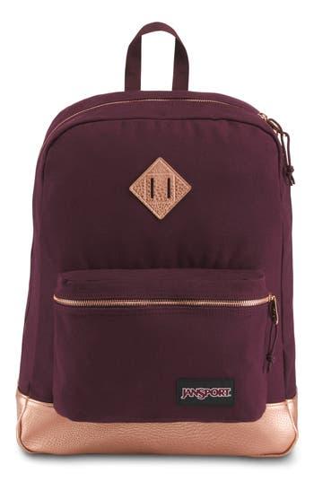 Jansport Super Fx Gym Backpack - Purple