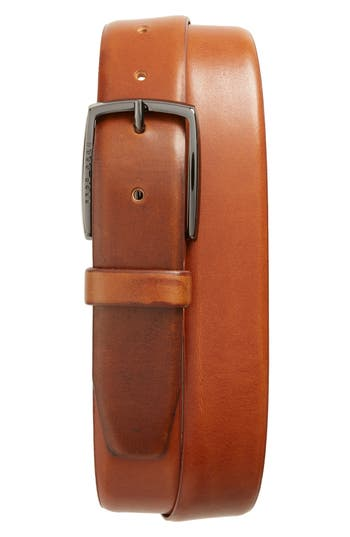Boss Celie Leather Belt, Medium Brown