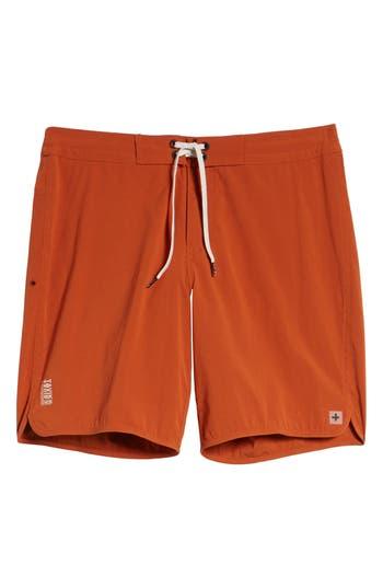 Tavik Avalon Board Shorts, Orange