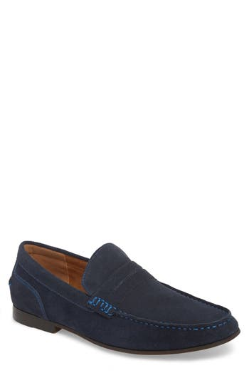 Reaction Kenneth Cole Crespo Penny Loafer, Blue