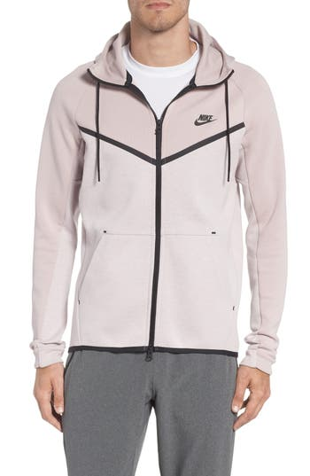 Nike Tech Fleece Hooded Jacket, Pink