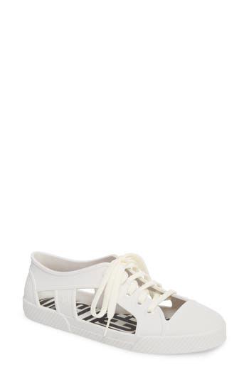 Melissa X Vivienne Westwood Brighton Sneaker, White