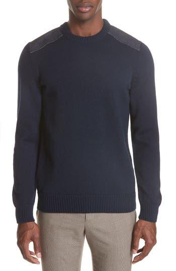 A.p.c. Karlheinz Wool Sweater, Blue