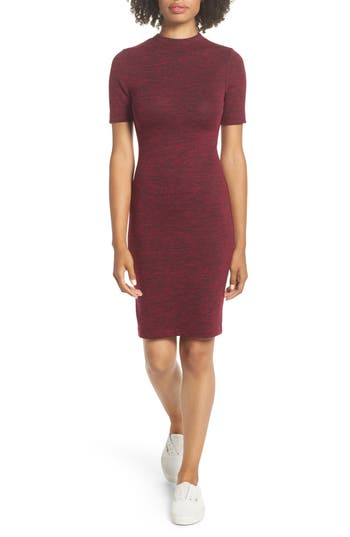 French Connection Sweeter Body-Con Dress, Red