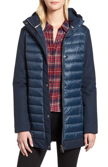 Barbour Leven Quilted Jacket, US / 8 UK - Blue