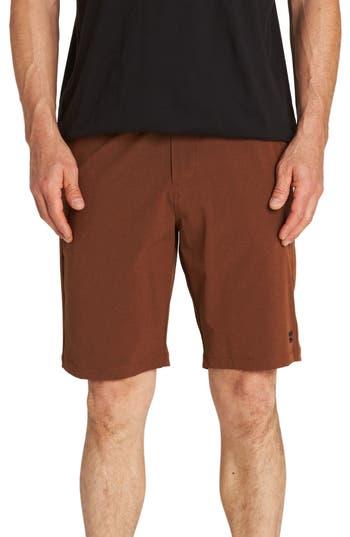 Billabong Crossfire X Mid-Length Shorts, Red