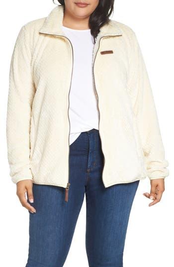 Plus Size Columbia Fireside Ii Fleece Jacket, Grey