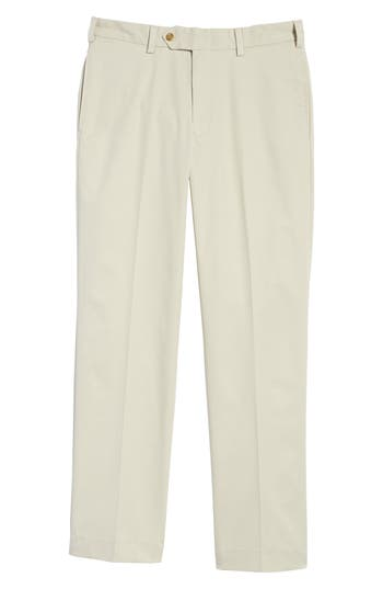 Big & Tall Bills Khakis M2 Classic Fit Flat Front Travel Twill Pants, Beige