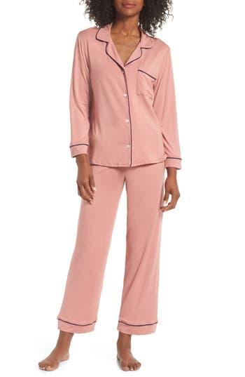 Gisele Long Pajama Set in Mysterioso/ Bellini