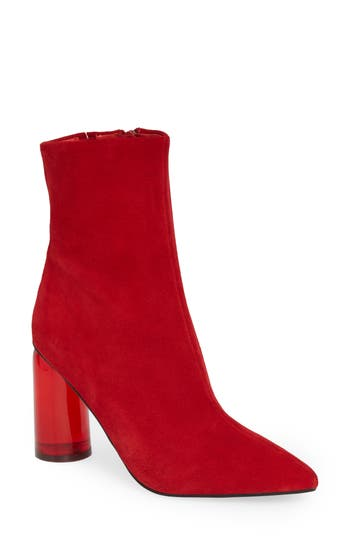 Jeffrey Campbell Lustful Bootie, Red