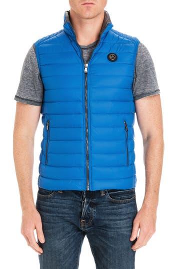 Michael Kors Regular Fit Packable Down Vest, Blue (Online Only)
