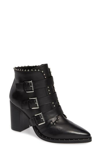 Humble Bootie, Black Leather