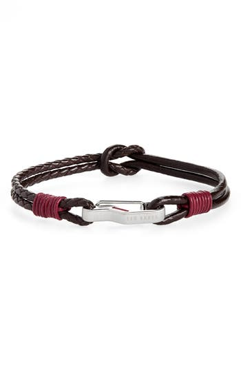 Ted Baker London Ivvry Leather Bracelet