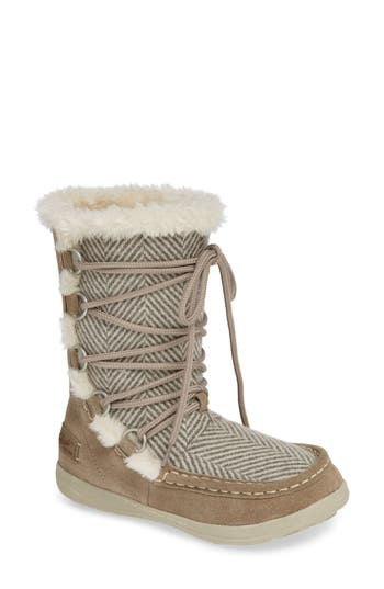 Woolrich Lace Up Bootie, Grey