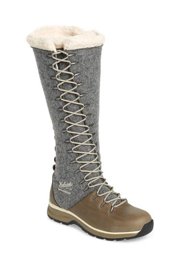 Woolrich Crazy Rockies Iii Lace-Up Knee High Boot, Grey