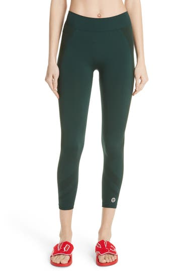 Tory Sport Seamless Chevron High Waist Leggings