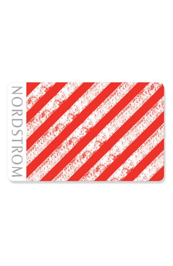 Nordstrom 'Candy Cane' Gift Card