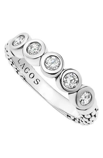 Women's Lagos Diamond Stacking Ring