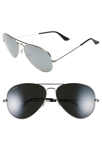 Ray-Ban 62Mm Aviator Sunglasses -