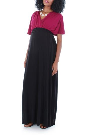 Women's Everly Grey 'Goddess' Maternity Maxi Dress