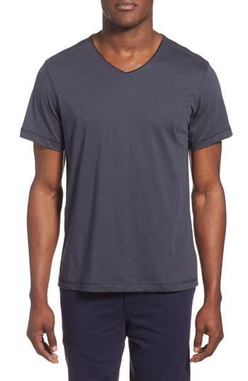 Men's Daniel Buchler Peruvian Pima Cotton V-Neck T-Shirt
