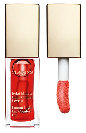 Clarins 'Instant Light' Lip Comfort Oil - Red Cherry