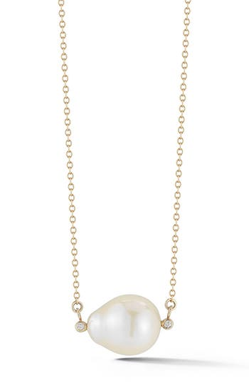 Women's Mizuki Pearl Pendant Necklace
