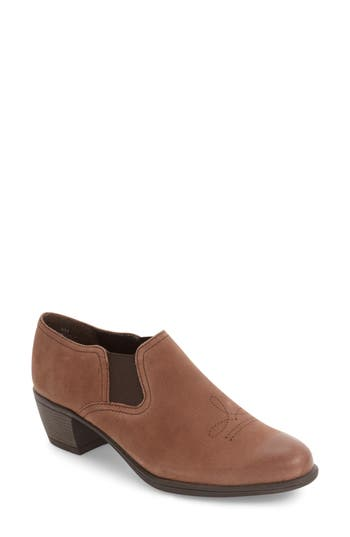 Munro Silverton Water Resistant Ankle Bootie, Brown