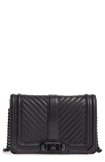 Rebecca Minkoff Small Love Leather Crossbody Bag -