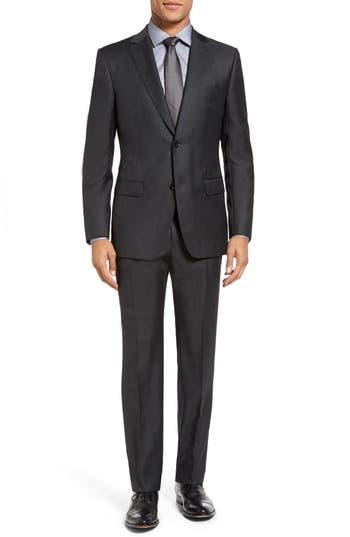 Men's Z Zegna Trim Fit Solid Wool Suit